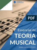 Essencial de Teoria Musical para Compositores - Thiago Schiefer