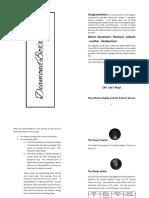 DiamondBoxx Model XL Manual Rev 2