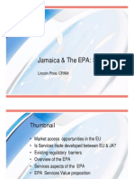 L. Price - Jamaica and the CF-EC EPA - Services Trade