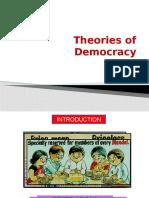 Theories of Democracy (1)