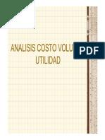 7.ANALISIS COSTOS VOLUMEN UTILIDAD
