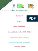 Estructura del PLC S7-200CPU 214