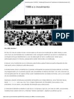 A Constituição de 1988 e o movimento popular _ CONTEE - Confederação Nacional dos Trabalhadores em Estabelecimentos de Ensino