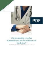 medicina humanistica y la necesidad de su enseñanza