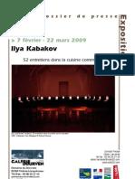Ilya Kabakov 52 Entretiens Dans La Cuisine Communautaire