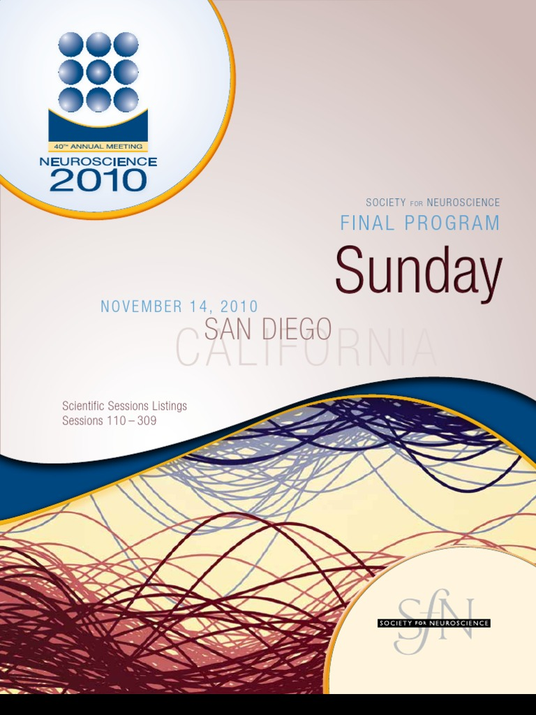 SfN Final Program Sunday