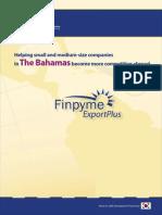 IIC-BCoC - Finpyme Export Plus Bahamas Brochure