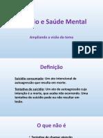 Suicídio e Saúde Mental