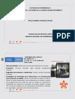EVIDENCIA 1  ACTORES DE LA CADENA DE ABASTECIMIENTO