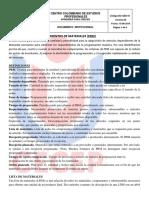 PLANEACION DE REQUERIMIENTO DE MATERIALES
