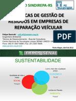 TÉCNICAS DE GESTÃO DE RESÍDUOS EM EMPRESAS DE REPARAÇÃO VEÍCULAR