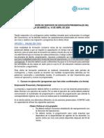 COMUNICADO 09 LINEAMIENTOS UT EDUCACION CLASES ONLINE V3 def