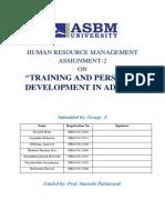 HRM assignment-2