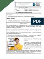 Informe sobre organizacion del taller