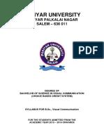 B.Sc. Visual Communication Syllabus_2020