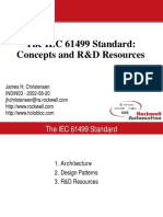 The IEC 61499 Standard. Concepts and R&D Resources