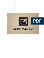 Manual Sublime Text