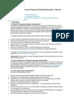 00-Perguntas & Respostas Do Programa Autodesk Subscription - Clientes