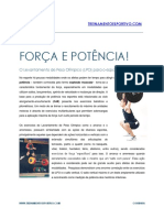 Força e potência LPO
