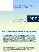 Disclosure Requirement Schedule Vi of Companies Act