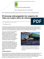 El Insssep está pagando los seguros de vida con cuatro años de retraso _ Norte Chaco