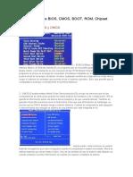 Diferencias entre BIOS y CHIPSET