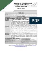 ACTA DE INICIO  I.P. 001-19