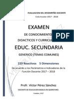 EX GENERICO SEC EDD2017