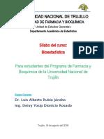 Silabus de Bioestadistica Farmacia 2019-2-Rubio