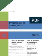Evaluación de aprendizaje.pptx