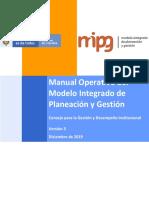 Manual Operativo MIPG