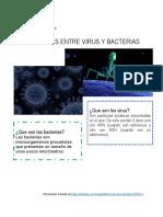 Trabajo de CyT-Diferencias entre viruz y bacterias