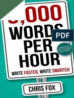 5,000 Words Per Hour - Chris Fox