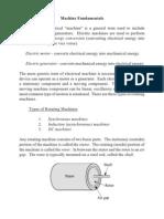 Machine Fundamentals