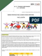PLANEACION DE INCLUSION