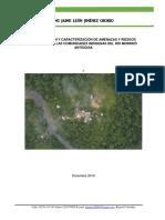 Identificación y caracterización de amenazas y riesgos naturales en las comunidades indigenas del río Murindó-Antioquia