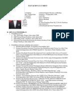 CV Dan Surat Lamaran
