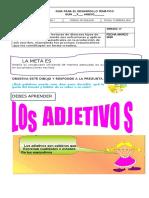 GUÍA EL ADJETIVO Y SUS GRADOS, LOS PRONOMBRES PERSONALES GRADO 4°  scrib.docx