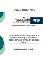 CODIGO TRIBUTARIO - LIBRO II 2019