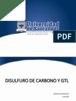 Disulfuro de carbono y GTL