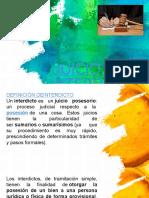 JUICIO DE INTERDICTO