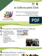 Matemáticas Lúdicas para Club SG