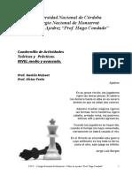 Cuadernillo Ajedrez Nivel Medio y Avanzado