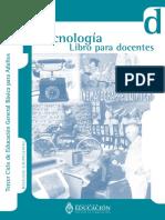 Tecnología (Libro para el Docente) - Región Educativa 11