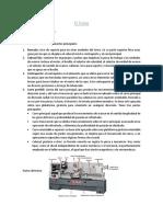 PRINCIPIOS DE TORNEADO