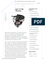 VW 1.5 TSI EA211 Evo Engine specs, problems, reliability, oil, Golf, Octavia