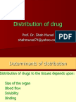 Distribution of Drug