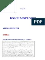 Astra 2.0 MPFI de 1993 em diante BOSCH MOTRONIC M1.5.2