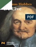 De Cive. Elementos filosoficos - Thomas Hobbes.pdf