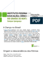 Ensino da dança - Danças brasileiras